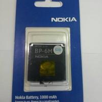 BATERAI NOKIA BP-6M ORI 95%/BATRE/BATTERY