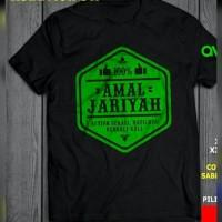 oblong/tshirt/baju/kaos amal jariyah