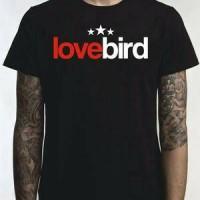 kaos t-shirt pria LOVEBIRD bintang