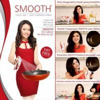 Smooth Cooking Spray (minyak diet sehat) khusus pulau jawa ya