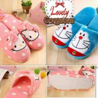 Sandal Rumah Doraemon Hello Kitty Sandal Boneka Sandal Kamar