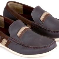 sepatu casual, sepatu pria keren, sepatu kets pria tanpa tali E 096