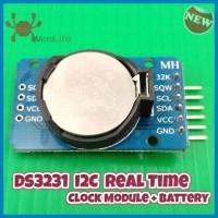 DS3231 I2C RTC Module + Baterai. Modul Jam Arduino Raspberry Pi