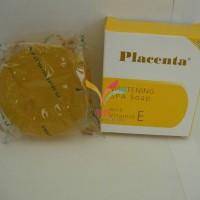 Placenta Whitening Spa Soap with Vit E / Sabun Placenta Kuning - BPOM