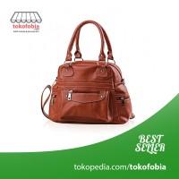 Jual Tas Wanita Model Tas Viyar / Handbags Warna Coklat Murah