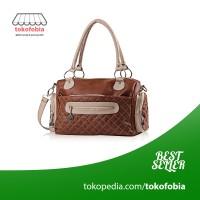 Jual Tas Wanita Model Tas Viyar / Handbags Coklat Murah