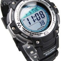 Jam Tangan Casio Pria Cowok Sgw100 digital Compass Kompas thermometer