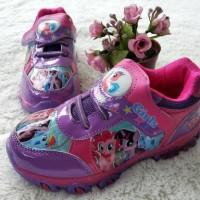 Sepatu Pony Lampu menyala  Sepatu Anak Import Branded Little Pony ungu