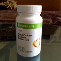 HERBALIFE#SHAKEnature's raw guarana tea nrg tea