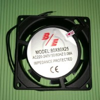 Fan AC 220v 8cm x 8cm / Kipas AC 220v 8cm x 8cm