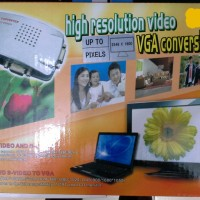 Vga to rca +s-video converter box PC.TO TV CONVENTER