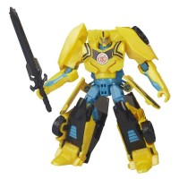 Transformers Robots In Disguise Warrior Class Night Strike Bumblebee