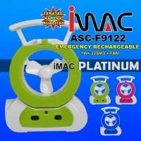 harga Lampu Emergency + Kipas Imac F9122 Tokopedia.com