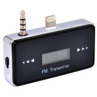 FM Transmitter 3.5mm Jack Plug Handsfree for iPhone 5/5s/5c - Black