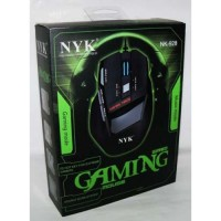 MOUSE NYK 928 GAMING USB Notebook PC Komputer Game Multimedia 7D WIRED