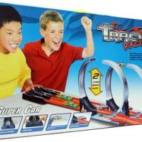 Track Racing Hotwheels Halilintar 2 Jalur