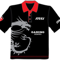 Gaming Polo T-shirt MSI
