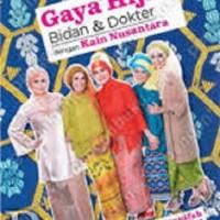 Gaya Hijab Bidan & Dokter dengan Kain Nusantara (Soft Cover)