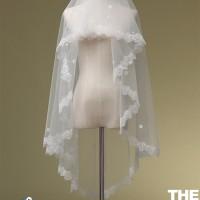 Veil slayer kerudung akad nikah wedding dress gaun pengantin import