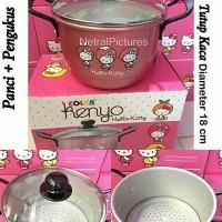 Panci Kukus Hello Kitty 18cm