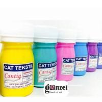 CAT KAIN / CAT TEKSTIL / CAT BAJU / CAT KAOS / CAT SEPATU Tidak Luntur