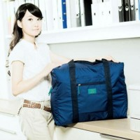 N FOLDABLE TRAVEL BAG /HAND CARRY TAS LIPAT / KOPER LUGGAGE ORGANIZER