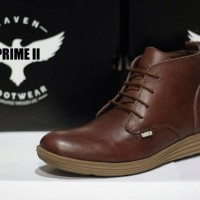 SEPATU RAVEN PRIME II LEATHER FULL UP SAFETY SHOES BROWN