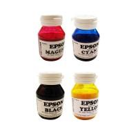 Tinta EPSON ArtPaper CMYK (4 warna) ASLI KOREA kemasan 100ML.
