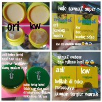 CREAM TEMULAWAK HANYA CREAM ORIGINAL HOLO EMAS BULAT NEW