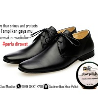 SOULMENTION SHOE POLISH/SEMIR SEPATU/LEATHER SHOE CARE