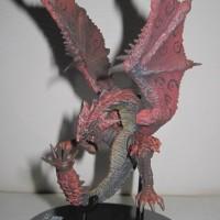 Action Figure Monster Hunter Rathalos Flying Version Original