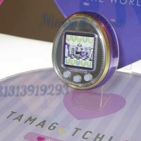 Jual Purple Tamagotchi 4u tamagotchi layar warna Asli bandai Murah