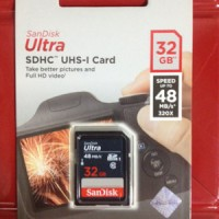 SD Card SDHC Sandisk Ultra Class10 32 Gb 40 MBs Memory Card Camera