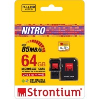 trontium Nitro 566X MicroSDXC UHS-1 85MB/s Class 10 64GB