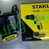 Mesin Bor Cordless Premium 10mm Stanley