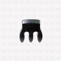 Violin Metal Mute Black 3 Teeth / Peredam Biola Metal Warna Hitam