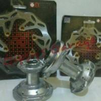 harga Tromol & Disc Brake / Cakram Set Expedition KLX / DT 150 Hole 36 Tokopedia.com
