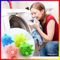 Bola Karet Mesin Cuci Pencuci Baju Pakaian Model LANDAK (Laundry Ball)