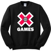 JAKET SWEATER X GAMES LOGO X GAME KEREN
