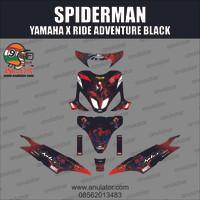 Sticker Striping Motor stiker MIO SPORTY 2006 Spiderman SPEC B