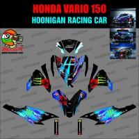 Sticker Striping Motor stiker Honda Vario 150 Hoonigan SPEC B