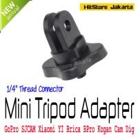 Jual Mini Triopd Mount Adapter Aksesoris GoPro SJCAM Xiaomi YI BPro Kogan Murah