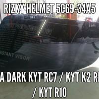 harga KACA HELM VISOR KYT RC7, KYT R10, K2 rider, RC 7 dark Tokopedia.com