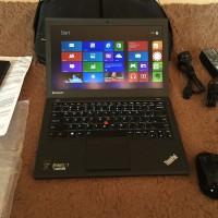 Ultrabook Thinkpad X240 i7 VPro 4600U RAM 8GB SSHD 500GB Like New X250