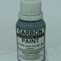 Carbon Conductive Ink / Paint ,Base Oil Fast Dry , isi 100 gram