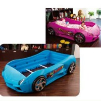Kasur Spring Bad Anak-anak Sporty Twin Car Bed