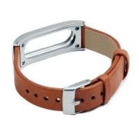 harga Leather Strap Option for Xiaomi Mi Band & Mi Band 1s (OEM) - Coklat Tokopedia.com