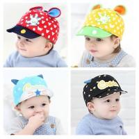 GZM Topi Anak Korea Motif Crown | Mouse - Banyak warna