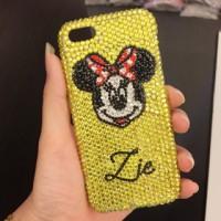 mickey diamond case oppo lenovo iphone 5c samsung grand 1 2 duos prime