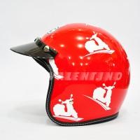 HELM BMC Buddy Vespa Red
